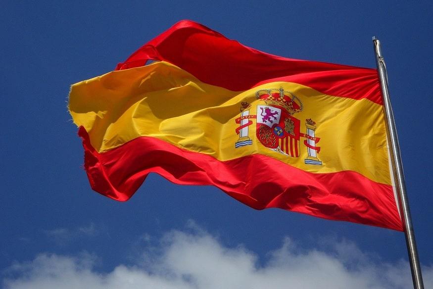 bandiera spagnola, simbolo della lingua spagnola
