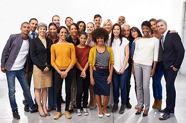 gruppo di studenti ai vari corsi di lingue