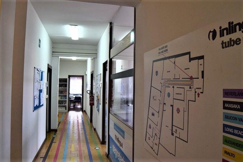 inlingua-sassari-corridoio