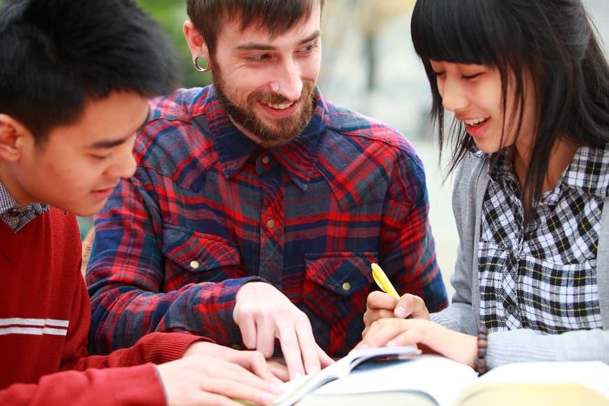 studenti corso di cinese a inlingua Sassari